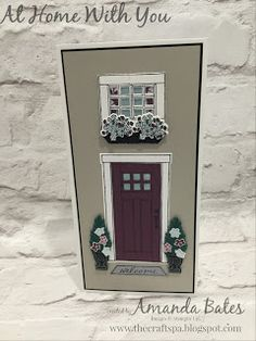 The Craft Spa - Stampin' Up! UK independent demonstrator : At Home With You & Team Colour Challenge