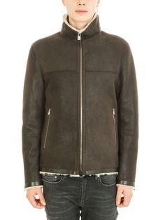 DROME DROMe Fur Brown Jacket. #drome #cloth #