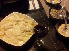 Receita de Talharim ao molho quatro queijos - Tudo Gostoso