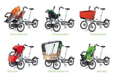 Taga Child Carrier Bike and Luxury Baby Stroller In One Bycicle Pictures, Bycicle Black Tricycle, Velo Cargo, Baby Helmet, Baby Bike, Post Baby Body, Jogging Stroller, Baby Gear, Kids And Parenting, Baby Strollers