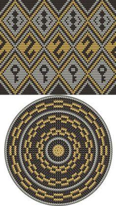 Wayuu Mochilla Bag Chart 54 - Bag and Purse Mochila Crochet, Bag Crochet, Crochet Shell Stitch, Crochet Handbags, Crochet Purses, Crochet Chart, Filet Crochet, Tote Pattern, Purse Patterns