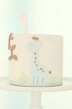 giraffe cake, so cute