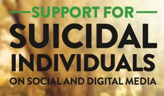 For over 10 years, the National Suicide Prevention Lifeline has worked with social media platforms and digital communities to establish recommended best practices in suicide prevention for social and digital media. Licensed Professional Counselor, Mental And Emotional Health, Dbt, Someone Elses, Digital Media, Take Care Of Yourself, How To Stay Healthy, The Help, Social Media