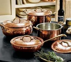 The Pioneer Woman Vintage Speckle 10-Piece Non-Stick Pre-Seasoned Cookware Set..Almost too pretty to use.