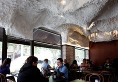 After 35 years in the business, iconic souvlaki restaurant, Stalactites recently completed its first full renovation.  www.fibonaccistone.com.au
