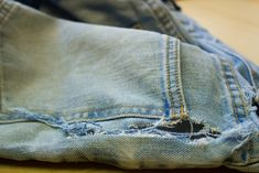 Don't let a tear mean the end of your favorite pair of jeans. Here's how to fix it.