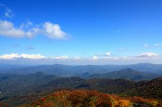 I love the Blue Ridge Mountains.    Suggestion:  Visit Old Rag Mountain NOW