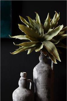 Feeling rustic cowboy style for SS15! Buffalo vases abigailahern.com