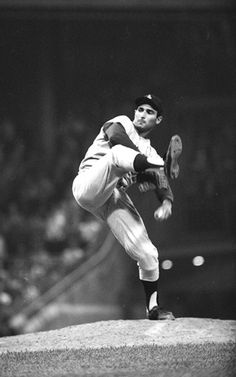 Sandy Koufax - another one of my childhood heroes