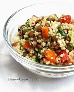 Matt's Couscous and Lentil Salad