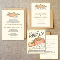 Seed Packet Invitations