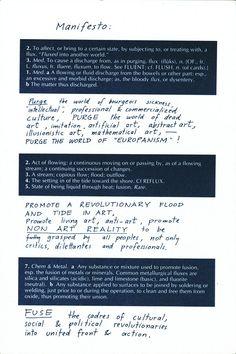 George Maciunas, Fluxus Manifesto - Google Search