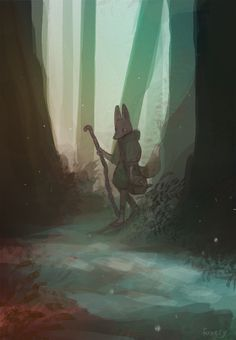 quiet forest - by foxery