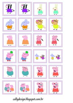 Peppa Pig and Family: Free Printable Party Kit. - Oh My Fiesta! in english Pig Crafts, Preschool Activities, Crafts For Kids, Pig Party, Party Kit, Peppa Pig Gratis, Peepa Pig, Peppa Pig Printables, Gratis Printables