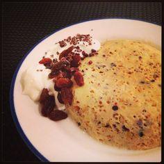 I Love Health | Mug cake – snel en gezond ontbijt cakeje | http://www.ilovehealth.nl