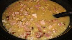 Kitchen Writer: Recipe: Slow-Cooker Ham and Navy Bean Soup