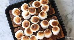 Broil Treatment via @PureWow. Make s'mores in the oven. You've got a craving for s'mores. (Naturally.) You've got the ingredients on hand. (Yes.) Just one little problem: There's no way you're building a fire to cook them the traditional way. (Crap.) So what's the solution? Make them in the oven. Layer graham crackers, chocolate and marshmallows in a cast-iron skillet and pop that bad boy under the broiler for a few minutes. The 'mallows will be toasty and the chocolate melted just…