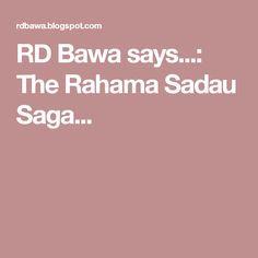 RD Bawa says...: The Rahama Sadau Saga...