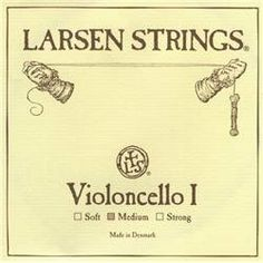 Larsen Strings Chromesteel Series Cello Strings G, Tungsten, Medium by Larsen Strings. $74.15. The Larsen strings are among the finest in cello strings. Made in Denmark from top-notch steel, they project well with a warm sound. They have balanced carrying power and powerful timbre.