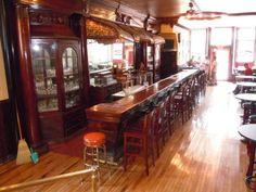 Bar and canopy, Schute's in Calumet