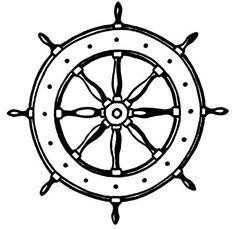 captain's wheel tattoo | Wheel Ship