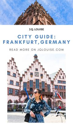 Frankfurt is a hidden European gem, with all the metropolitan experiences that Europe's tourist filled cities also offer, with access to one of the most beautiful wine regions in the world—the Rheingau, Frankfurt is a must for the traveler looking for a lovely European escape! | Frankfurt Germany things to do in | Frankfurt Germany food | Frankfurt Travel guide | Frankfurt travel photography | Road Trip Europe, Europe Travel Tips, European Travel, Travel Guide, Frankfurt Germany, Germany Europe, Germany Travel, Vacation Outfits, Vacation Trips