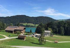 The beautiful Austrian town of Fuschl