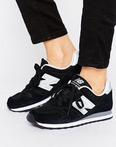 0f43a278e2ba New Balance 373 Trainers In Black New Balance Black Sneakers