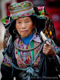 China | Miao.  Doujiang, Guizhou | ©Robert Lio