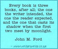 Quotable - John M. Ford - Writers Write Creative Blog
