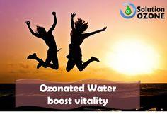 Ozonated Water boost vitality.💧💪 A água ozonizada aumenta a sua vitalidade.💧💪 Ozone Therapy, Healthy Life, Healthy Living