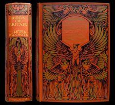 1917 Birds of Britain 100 Color Plates RARE Illustrated Fine Binding Ornithology | eBay