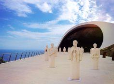 Auditorium Oscar Niemeyer, Ravello, Amalfi coast • Niemeyer