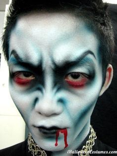 awesome vampire makeup for Halloween - Halloween Costumes 2013