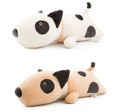 53 см Бультерьер собака детские плюшевые игрушки каваи мягкий спальный подушка чучела куклы для Новорожденных детей детям подарки Сиденья подушки купить на AliExpress