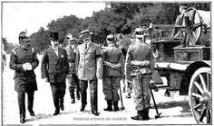 1913 Revista Servicio Extinción de Incendios. Paseo de la Castellana
