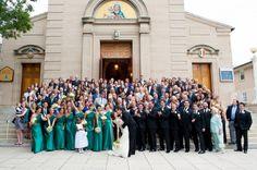 Wedding Guest Photo 550x365 Classic Emerald Green Wedding Ceremony in Washington DC: Katelyn + Casey