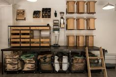 The Woodstock Exchange is home to a sleek and very stylish haven for coffee lovers. Rosetta Roastery, who source single origin and estate Coffee Lab, Coffee Lovers, Garage Cafe, Bar Set Up, Coffee Store, Coffee Roasting, Interior Inspiration, Liquor Cabinet, Storage