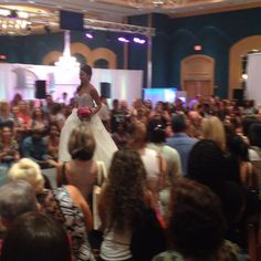 #nutrichef #usa at #bridal show in #daytona #fashionshow