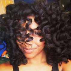 #Afro_cheveux_boucles