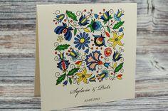 Zaproszenia ślubne,na ślub,FOLK,papier eko,piękne (5939884820) - Allegro.pl - Więcej niż aukcje.