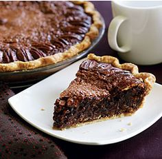 Chocolate Espresso Pecan Pie Recipe - had this on Thanksgiving. Hands down, one of the best pies I have ever eaten.