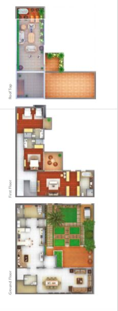 THE SUSTAINABLE CITY Dubai Land Dubai Floor plan