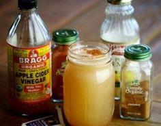 How to Make Dr. Josh Axe Secret Detox Drink, braggs apple cider vinegar, cayenne, cinnamon