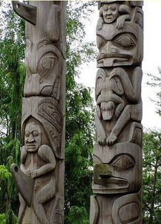 Ancient Americas Totem pole in Canada Visit us. buckweed.org. Pinned by indus® in honor of the indigenous people of North America who have influenced our indigenous medicine and spirituality by virtue of their being a member of a tribe from the Western Region through the Plains including the beginning of time until tomorrow.