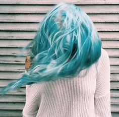 Bleach London Salon washed up mermaid