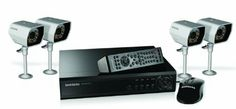 Amazon.com: Samsung VKKF004NUS SDE-3000N 4 Channel DVR Surveillance System: Camera & Photo
