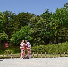 Enjoying Kenroku-en .  #i #kenrokuen #兼六園  #japanesegarden #kanazawa #金沢市 #japan #日本 #tanyainjapan Kanazawa, Lily Pulitzer, Japan, Landscape, Instagram Posts, Photos, Scenery, Pictures, Japanese
