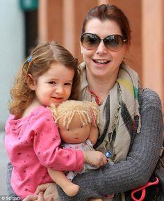 Alyson Hannigan (Denisof) and daughter Satyana ... My 2 favorite ladies