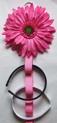 A Very Cute Little Hair Accessory Holder!! Hope You Think It's Cute Too!
